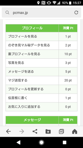 PCMAX料金表
